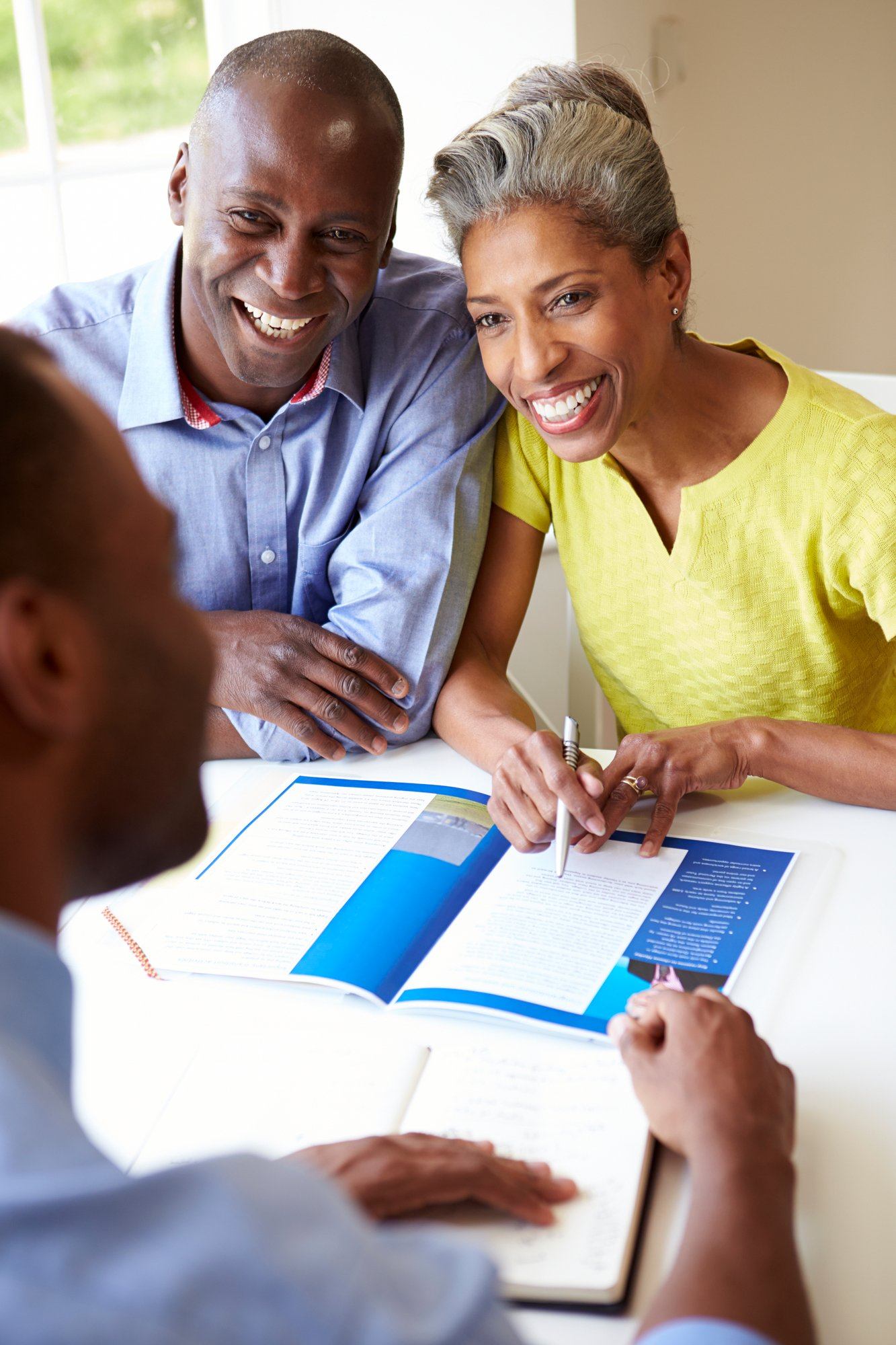 Couple Meeting With Financial Advisor-1