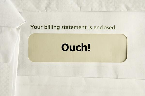 Envelope with billing statement and